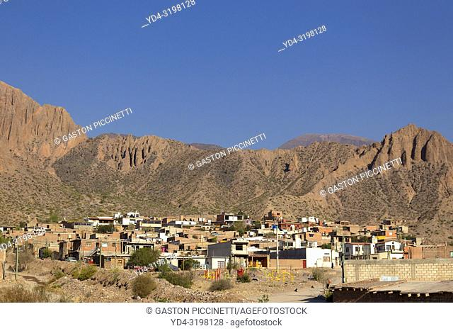 Small town on the road to humahuaca, National Route 9, Jujuy, Argentina