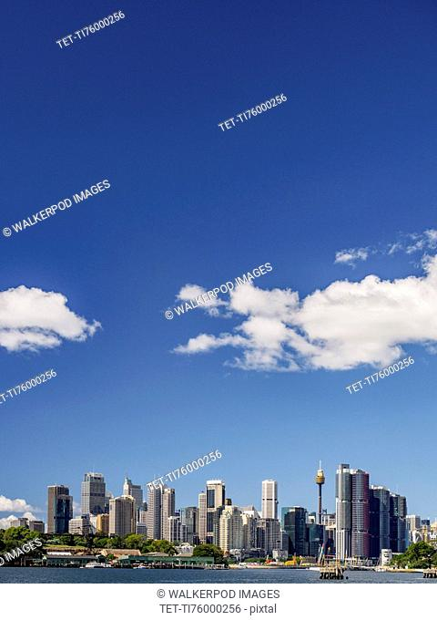 Australia, New South Wales, Sydney, City skyline on sunny day