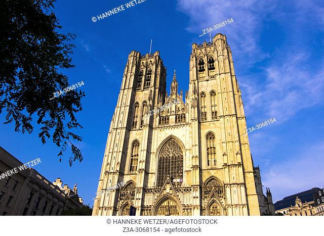 The Cathedral of St. Michael and St. Gudula, Brussels, Belgium, Europe