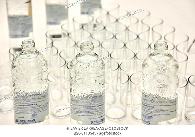 Water, Catering in congress, Kursaal Congress Palace, Donostia, San Sebastian, Gipuzkoa, Basque Country, Spain, Europe