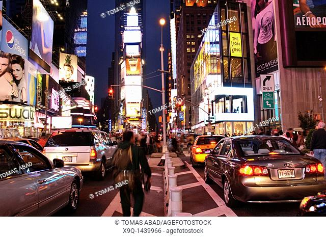 Times Square, 42nd Street, New York City, 2011