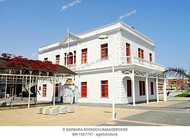 Library, historical building, Antofagasta, Norte Grande region, Northern Chile, Chile, South America
