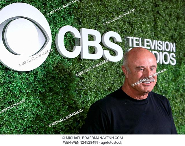 4th Annual CBS Television Studios Summer Soiree at Palihouse - Arrivals Featuring: Phil McGraw Where: West Hollywood, California