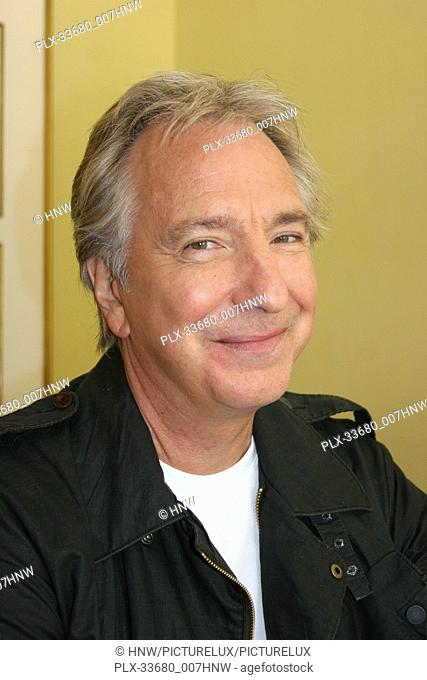"Alan Rickman 07/29/08 """"Bottle Shock"""" Press Junket @ Four Seasons Hotel, Beverly Hills Photo by Izumi Hasegawa/wwwHNW / PictureLux File Reference #..."