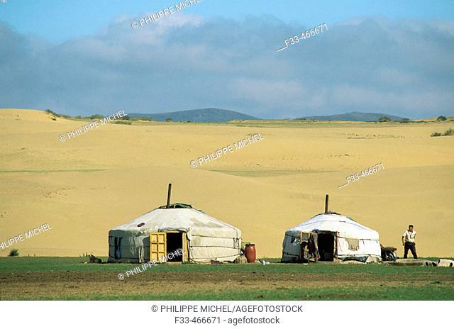 Bakhan Uul. Töv province. Mongolia