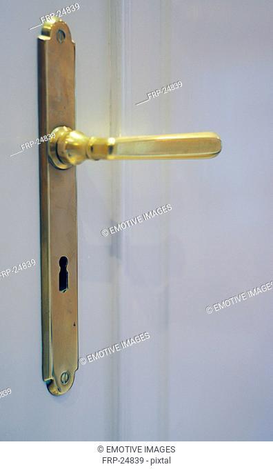 Old-fashioned door handle