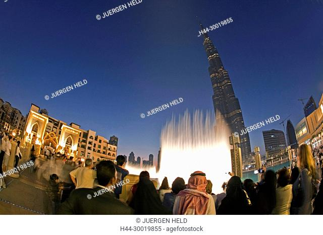 United Arab Emirates United Arab Emirates, Dubai, Burj Khalifa, highest Skycraper in the World, 828 meter, Burj Dubai