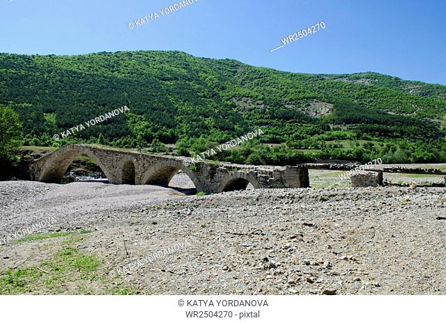 Bridge over dried river