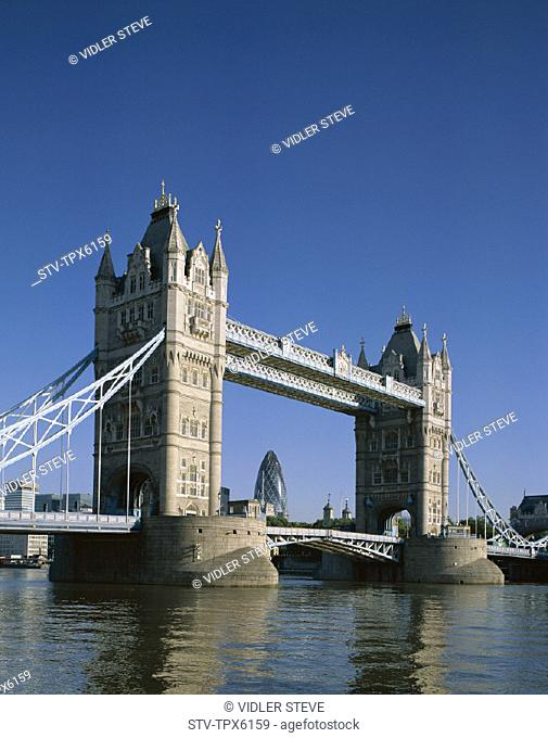 England, United Kingdom, Great Britain, Holiday, Landmark, London, Thames river, Tourism, Tower bridge, Travel, Vacation