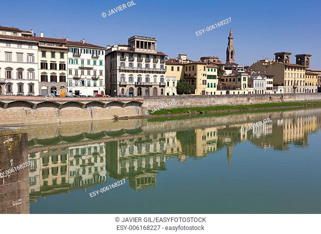 River Arno, Florence, Tuscany, Italy