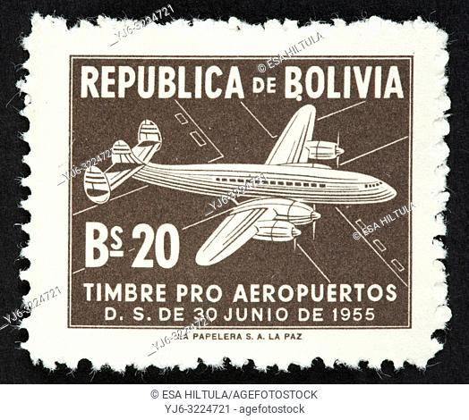 Bolivian postage stamp