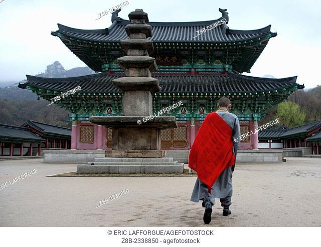 Ryong Thong Temple In Kaesong, North Korea