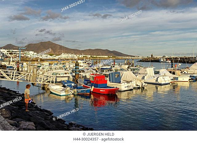 Playa Blanca, Yacht Harbour, Lanzarote, Canary Islands, Spain