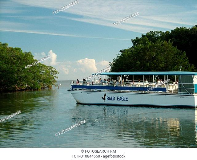 Everglades National Park, FL, Florida, Flamingo, Visitor Center, Cruise Boat, excursion