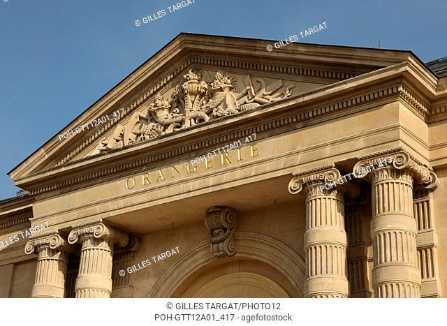 France, ile de france, paris 1er arrondissement, jardin des tuileries, musee de l'orangerie, nympheas, claude monet, Date : 2011-2012 Photo Gilles Targat