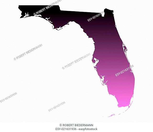 Karte von Florida