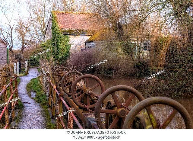 Fiddleford Mill, Sturminster Newton, Dorset, England, UK