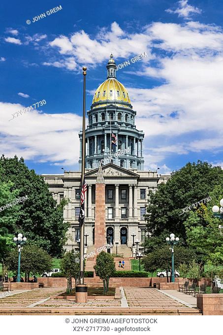 Colorado State Capitol building, Denver, Colorado, USA