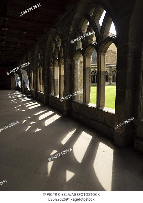 Great Britain. Durham. Cathedral. Churchyard