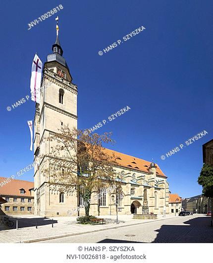 Church of the Holy Spirit, Bayreuth, Upper Franconia, Bayern, Germany