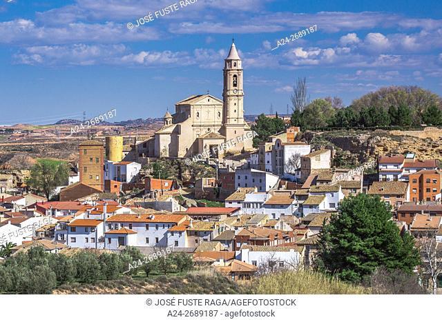 Spain, Teruel Province, Urrea de Gaen Village
