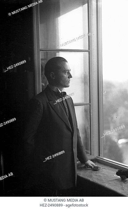 Ture Rangström, Swedish composer, 20th century. Rangström (1884-1947) composed three operas. He was also a music critic and a conductor