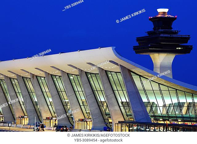 Dulles International Airport Main Terminal