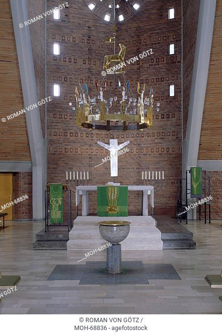 Architekten Schweinfurt schweinfurt auferstehungskirche 1958 erbaut vom architekten
