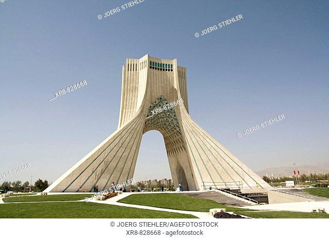 Iran, Teheran, Azadi Square, Azadi Monument