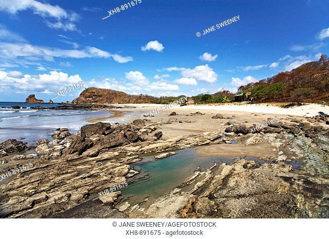 Playa Madera beach, San Juan del Sur, Nicaragua