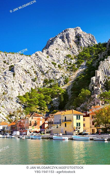Croatia - Makarska Riviera, Omis Village, Dalmatia, Croatia