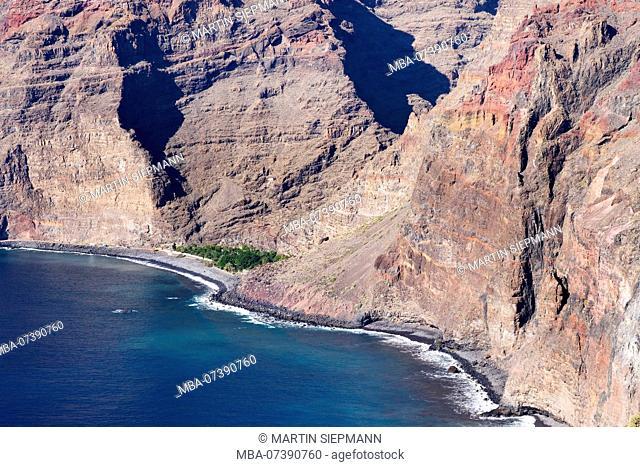 Finca Argayall, Barranco de Argaga, Valle Gran Rey, La Gomera, Canary Islands, Canary Islands, Spain