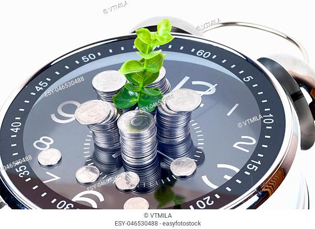 42396a45b18b4 Coin isolated copy space Stock Photos and Images