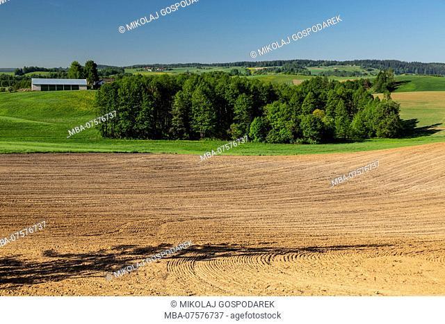 Europe, Poland, Podlaskie Voivodeship, Suwalskie / Suwalszczyzna