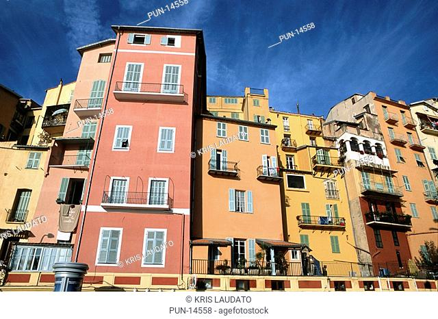 Menton is the last French city on the French Riviera just before Italy The architecture is typically mediterranean with pastel colours