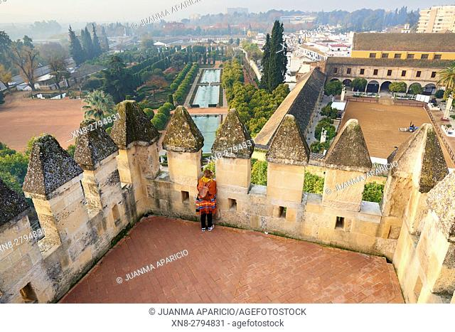 Alcazar of Catholic Kings and Royal Horse Riding Stables, Córdoba, Andalusia, Spain, Europe