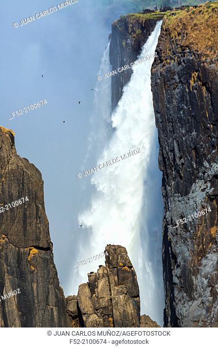Victoria Falls or Mosi-Oa-Tunya, Zambia and Zimbabwe, Africa