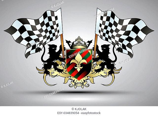 flag formula, this illustration may be useful as designer work