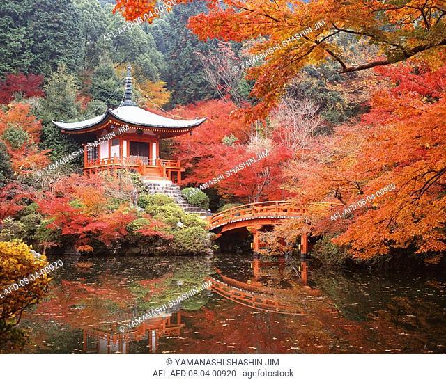 Daigoji Bentendou, Kyoto, Japan