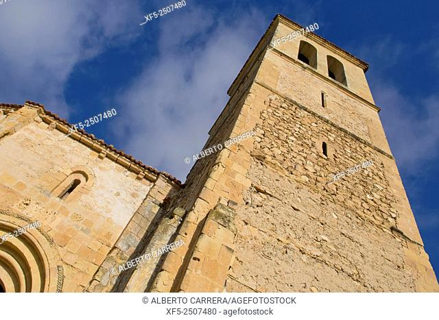 Romanesque Church of Vera Cruz, Church of the Holy Sepulchre, Segovia, UNESCO World Heritage Site, Castilla y León, Spain, Europe