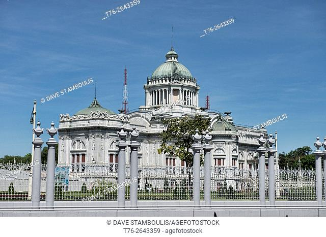 Ananta Samakhom Throne Hall at Dusit Palace in Bangkok, Thailand