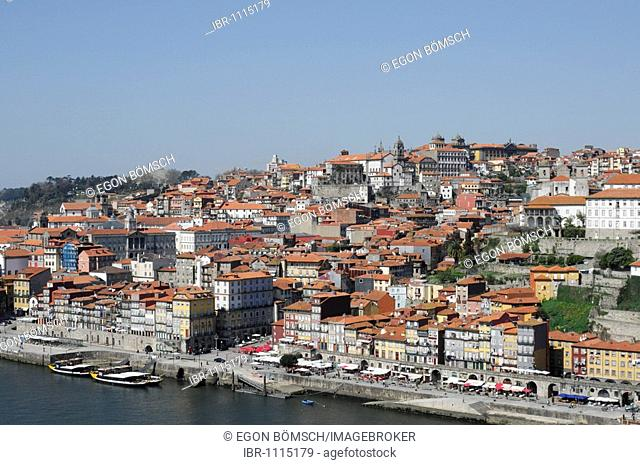 Old Town Ribeira district, Porto, North Portugal, Europe