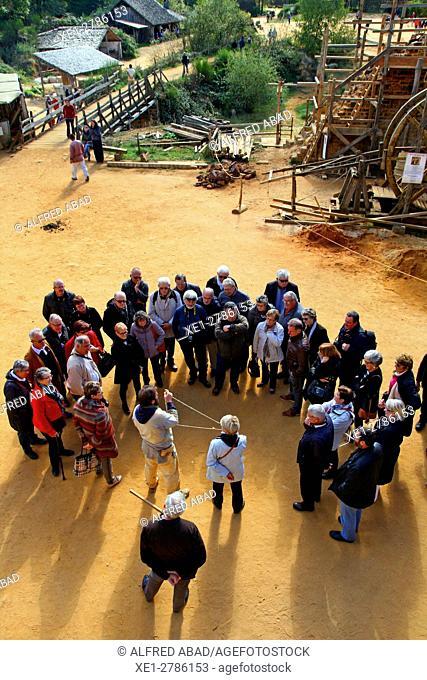 Cultural visit, Château de Guédelon, Treigny, France