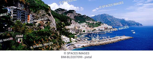 Coastal Town of Amalfi