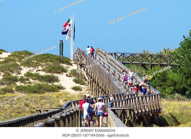 Beachwalk, Quinta do Lago, Algarve, Portugal