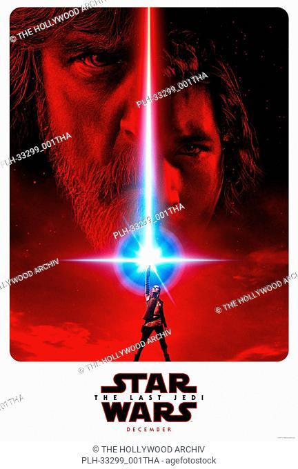"""""""""""""""Star Wars: The Last Jedi"""""""" (2017) Lucasfilm Ltd. Poster"""