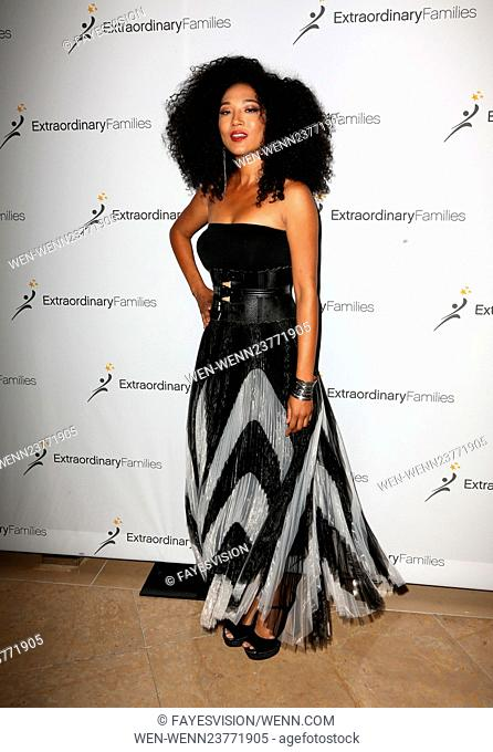 Extraordinary Families 1st Annual Gala - Arrivals Featuring: Judith Hill Where: Beverly Hills, California, United States When: 20 Apr 2016 Credit:...
