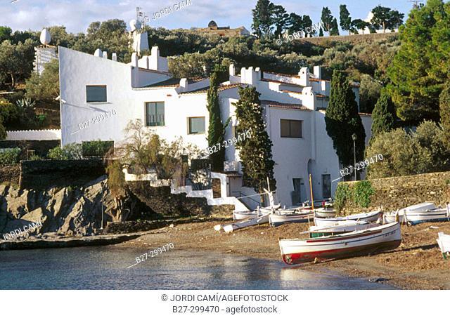 Casa-Museu Salvador Dalí. Portlligat. Alt Emporda. Girona province. Catalonia. Spain