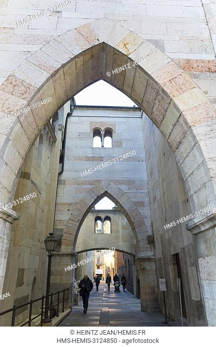 Italie, Emilia-Romagna, Modena, the cathedral