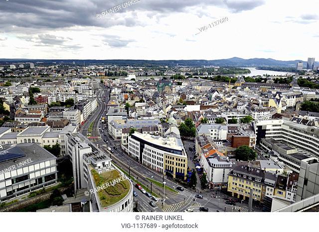 City of bonn. - Bonn, North Rhine-Westphalia, Germany, 08/09/2008
